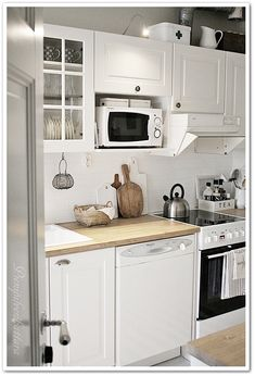 PIENI PILVENHATTARA Ikea, Kitchen Island, Kitchen Cabinets, Home Kitchens, Modern, Interior, Design, Home Decor, Decoration