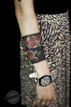 tattoo bracelet..
