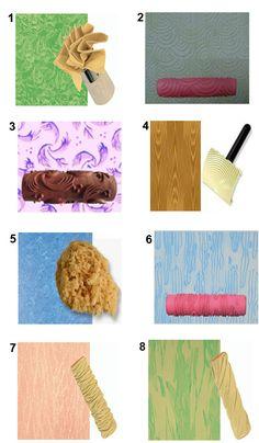 tipos de pintura y acabados en paredes - Buscar con Google