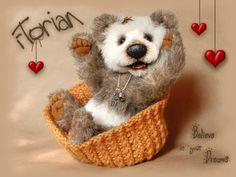 Stein-Bears / Handmade Artistbears and Animals by Monika Stein /Florian