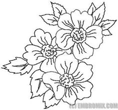 Floral Embroidery Patterns, Embroidery Flowers Pattern, Folk Embroidery, Paper Embroidery, Embroidery Designs, Floral Drawing, Colorful Drawings, Fabric Painting, Floral Motif