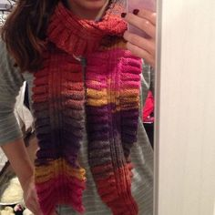 Autumn Ombre Colored Scarf Hand made scarf, very warm and great quality material  Accessories Scarves & Wraps