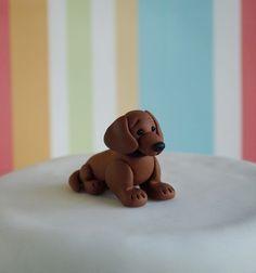 Dachshund Cake Topper