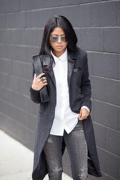 Fashion Estate - Sheryl Luke: Androgyny