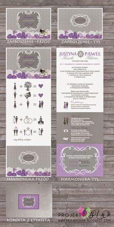 projekt ŚLUB - zaproszenia ślubne, oryginalne, nietypowe dekoracje i dodatki na wesele: biel