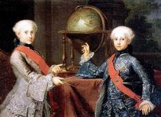 The Infantes Fernando and Gabriel - Giuseppe Bonito - The Athenaeum