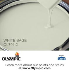 WHITE SAGE OL701.2 is a part of the greens collection by Olympic® Paint.