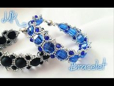 Beginners Bracelet Sunflower Tutorial *(3)* Beading Tutorial by HoneyBeads1 (with superduo beads) - YouTube