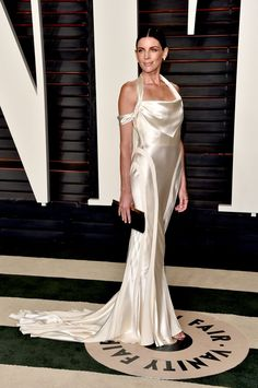 Pin for Later: Don't Miss 1 Single Look From the Oscars Afterparties Liberty Ross At Vanity Fair's Oscars party.