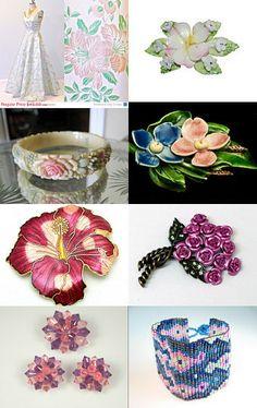 #Vintage Garden #flowers #jewelry #fashion #TeamLove