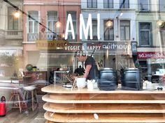 AMI-Flagey est un restaurant végétarien à Bruxelles découvert par The Foodalist