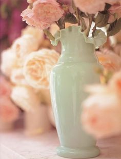 Color inspiration for little Coe #2 baby room Seafoam and Peach