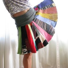 Ultimate Maternity Wear Recycled Sweater Skirt/Poncho. $70.00, via Etsy.