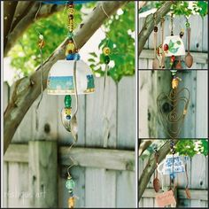 Photo Tea Cup Chimes - I think the photo gives you enough details to make the project...