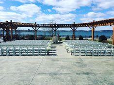 Outdoor wedding. #1000islands #claytonny #weddingdestination Harbor Hotel, The St, Hotel Offers, Islands, Destination Wedding, Outdoor, Outdoors, Destination Weddings, Outdoor Games