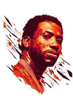Gucci Mane, Behance, Illustration, Movie Posters, Image, Phone, Diy, Psychics, Behavior