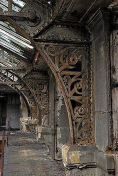 Just look at that beautiful design work!==> Abandoned Steampunk Industrial . . .