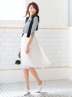 ちょっぴり大人♡甘タイプのガーリッシュ系のコーデ♡スタイル・ファッションのアイデア☆