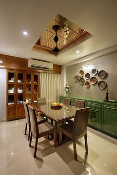 Where to Find Timeless Modernistic Residence - untoldhouse House Ceiling Design, Ceiling Design Living Room, Home Room Design, Home Interior Design, Ethnic Home Decor, Indian Home Decor, Apartment Interior, Room Interior, Room Partition Designs