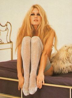 Brigitte Bordeaux, makes me want to pile on the eye liner and never cut my hair again