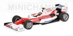 PANASONIC TOYOTA RACING - TIMO GLOCK - SHOWCAR - 2009 L.E. 1008 pcs. - Formula 1…