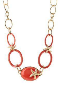 Starfish Links Necklace on HauteLook