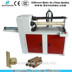 Competitive Price of Paper Core Cutting Machine with Auto Unloading Function