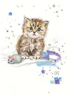 BugArt Critters ~ Tabby Kitten. CRITTERS *NEW* Designed by Jane Crowther.