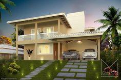 Miriã Campos | Arquitetura • Design • Maquete Eletrônica 3D | Maquete Eletrônica 3D – Belo Horizonte BH – Miriã Campos MCampos arquitetura – Condominio Mountain Village – Imagem Fachada casa 2