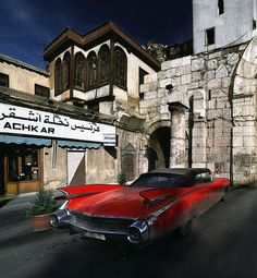 Damascus Cadillac by zerega, via Flickr