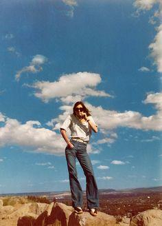 "deshistoiresdemode: "" Anjelica Huston by Joan Juliet Buck,1990s. """