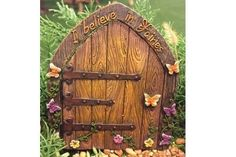 FAIRY GARDEN Miniature ~ I Believe In Fairies Door ~ Mini Dollhouse FOR SALE • $9.99 • See Photos! Money Back Guarantee. Powered by Frooition Home About Returns FAQ's Contact Shop CategoriesAccessoriesAll AccessoriesBird Houses and FeedersBoats And CanoesDoor MatsFairy DustFairy Garden KitsFairy StonesFishingFoodGarden Signs, Flags And StakesGardening & ToolsAll GardeningBucketsWatering CansLanterns & 262297274923