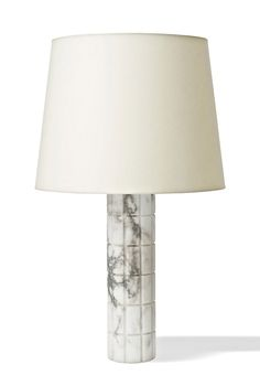 Anonymous; Marble Table Lamp by Bergboms, 1960s.