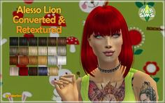 Alesso Lion Converted & Retextured