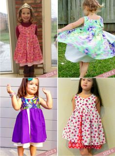 Girls dress patterns pdf Nohara dress for by AmelieClothing