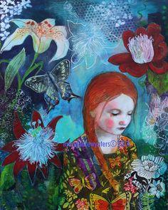 Botanical Wonderland- Mary Pace Wynters (mixed media)
