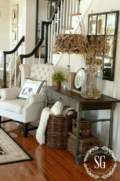 Chair Set Up A Little Too Something. Are You A Farmhouse Style Lover? If So  These 23 Rustic Farmhouse Decor Ideas Will Make Your Day!
