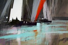 White Sail 2 by tony allain