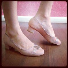 Delícia de sapato de saltinho em nobuk #raphaellabooz. Compre o seu aqui: http://koqu.in/15PDk5F #koquini #sapatilhas #euquero