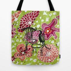 secret garden Tote Bag by Marie Elke Gebhardt - $22.00