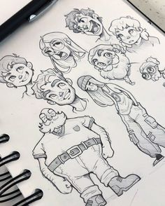 Character sketches 824088431803613712 - Sketch Face face to face Source by pimininimini Drawing Cartoon Characters, Cartoon Art Styles, Cartoon Drawings, Disney Characters, Character Sketches, Character Design References, Character Drawing, Animation Character, Drawing Expressions