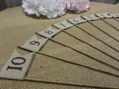 Love these - but maybe just with brown paper instead of burlap