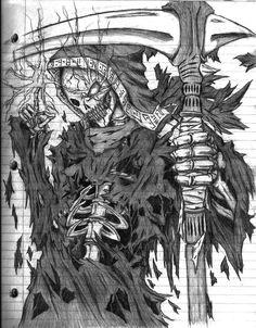 Hell Vanguard / Grim Reaper by https://hmonger95.deviantart.com on @DeviantArt