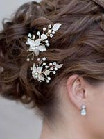Hair Comes the Bride- Hair Pins View All