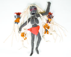 Noongar dolls from Western Australia