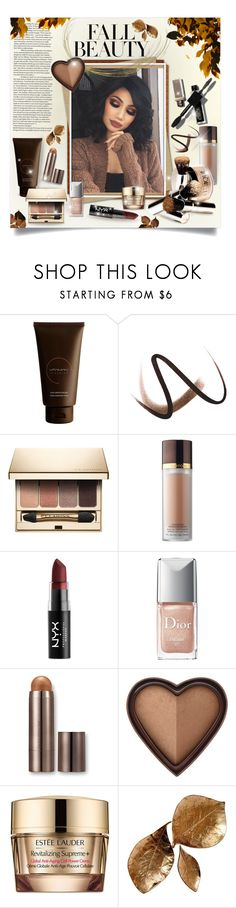"""""""Fall Beauty 2017"""" by blondemommy ❤ liked on Polyvore featuring beauty, VitaMan, Burberry, Clarins, Tom Ford, NYX, Christian Dior, Laura Mercier, Too Faced Cosmetics and Estée Lauder"""