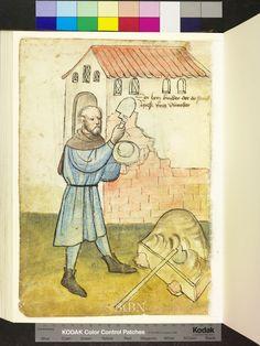 Mendel Housebook, Amb. 317.2° Folio 30 verso, c 1425, Nuremberg (Nürnberg)