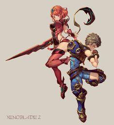 Xenoblade Chronicles 2 Pyra/Homura & Rex
