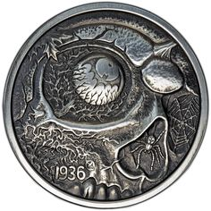 1 oz Antique Nightmares of the Fall Silver Rounds from JM Bullion™