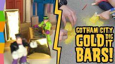Surprise Gold Dig It Digging for Gold ft Batman Imaginext Toys Riddler a...